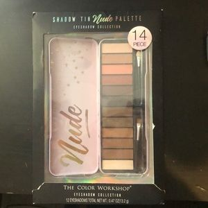 Eyeshadow 14 piece collection nude palette